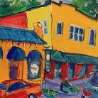BeeAdams_Well Bred Bakery_9x12_acrylic